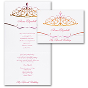 Princess Party - Invitation - My Fifteenth Birthday